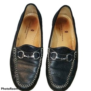 Shoes Martin Dingman Loafers Driving Black Leather